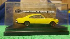 1:43 scale Trax Top Gear Holden HG Monaro GTS Coupe Yellow Dolly TR37C