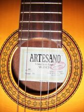 1989 Artesano #50 Solid Classical Guitar in Mint Condition w/ Used Hard Case