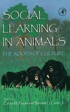 Social Learning in Animals : The Roots of Culture (1996, Hardcover)