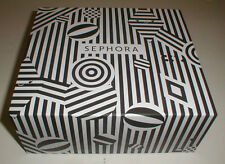 "Sephora Black and White Holiday Birthday Storage Gift Box 10"" x 9"" x 4"""