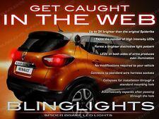 Renault Captur Samsung QM3 Custom LED Tail Lamps Replacement Light Bulbs Upgrade