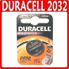 Véritable DURACELL 2032 DL2032 cr2032 coin cell batterie