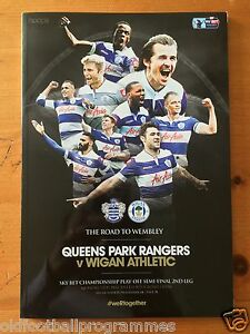 2014 CHAMPIONSHIP PLAYOFF SEMI FINAL *(QUEENS PARK RANGERS V WIGAN ATHLETIC)*