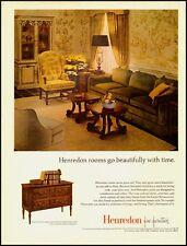 1968 Vintage Ad For Henredon Fine Furniture/Folio Seven Collection (030313)