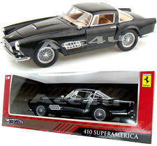 Hotwheels Black Ferrari 410 Superamerica 1:18 Diecast Model Car