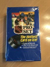 NHL Pro Set Cards The Hottest Cards on Ice 1990 series one