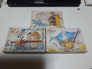 【Japan】Final Fantasy 1 2 3 I II III  NES Famicom Nintendo FC