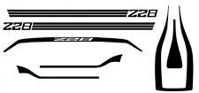 Chevrolet Camaro Z28 Special Stripes 1/24th - 1/25th Scale Decals