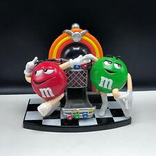 M&Ms candy dispenser TM vintage candy advertising jukebox juke box green red