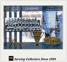 PC19- 2004 AFL Ovation Carlton 1981 VFL Premiership Commemorative Card