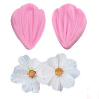 Rose/Tulip Petal Shaped Cookies Pastry Baking Mould Cutter Cake Decorating Tools