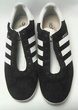 VTG Adidas Gazelle APE 779 10.5 Men's Shoes Sneakers Black White