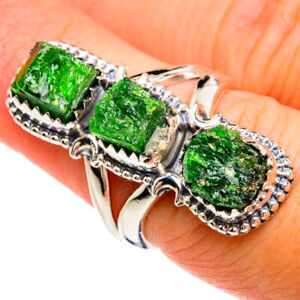 Chrome Diopside 925 Sterling Silver Ring Size 6.5 Ana Co Jewelry R80280F