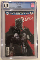 All Star Batman #1 CGC 9.8 Jock variant cover 2016
