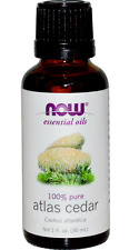NEW NOW FOODS ORGANIC ESSENTIAL OILS AROMATHERAPY PURIFYING PURE ATLAS CEDAR