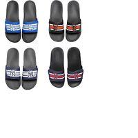 Mens MLB Baseball Legacy Sport Slide Sandals Flip Flops - Choose Team