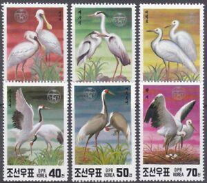 Korea (N) - 1991 - MNH - (3174-3179) Bird