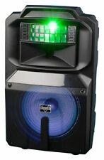 """VocoPro 12"""" Powered Dj/Karaoke Speaker w/RGB Derby Light - Karaoke-Thunder-1200"""