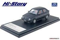 Hi Story 1/43 Nissan MARCH TURBO 1985 Black Metallic Finished Product