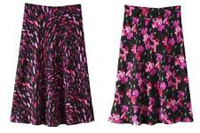 Calf Length Chiffon Plus Size A-line Skirts for Women