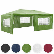 Gazebo da giardino tendone tenda per festa party con parti laterali 3x6 m