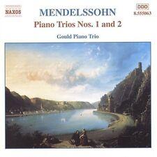Gould Piano Trio, F. Mendelssohn - Piano Trios 1 & 2 [New CD]