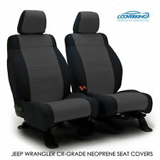 2015 Jeep Wrangler JK Genuine Neoprene CHARCOAL Seat Covers by Coverking