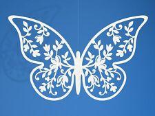 20X Farfalla decorativo in CARTA PERLATA matrimonio segnaposto tableau