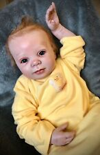 "*Price Reduced* Handmade OOAK Reborn Baby Doll 20"" Blaze sculpt by Donna Rubert"