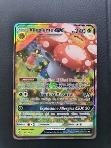 Vileplume Gx 4/236 Rara Gx nMINT Eclissi Cosmica Carte Pokemon (ITA)