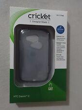 Cricket Wireless HTC Desire C Clear Designer Shield SKU CTP988 Brand New In Box