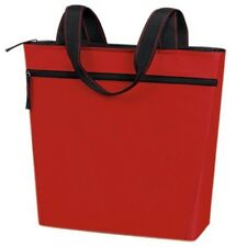 """Yens """"eGreen"""" Promotional Zip Tote Red / Black SB-28"""