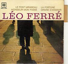 LEO FERRE LE PONT MIRABEAU FRENCH ORIG EP