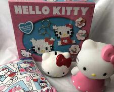 Hello Kitty Sanrio Bundle With Bead Creations Kit, Colour Changing Light, Bank