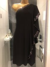 Sequin One Shoulder Cocktail Evening Party Dress BNWT
