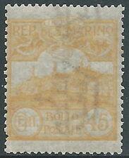 1903 SAN MARINO VEDUTA 45 CENT MNH ** - X5