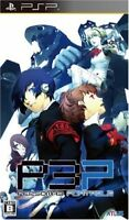 USED ​​PSP persona 3 portable sony playstation Japan import