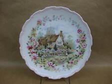 "Royal Albert ""Summer"" Bone China Plate ""Cottage Garden Year Series"" ~ English"