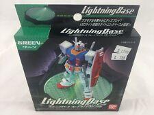 Bandai Hobby Lightning Base Plate Type Display Stand Figure (Green Version)
