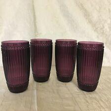 Le Cadeaux Milano Polycarbonate 21-oz. Tea Glass Tumbler - Set of 4 Plastic