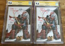 KING SPAWN #1 1:250 (2021) CGC 9.6 SS Todd McFarlane! Only 1 for sale, you pick!