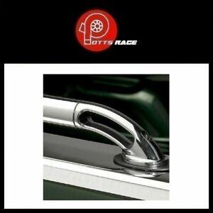 Putco 89822 - Super Duty Silver Lockers Side Bed Rails fits 73-96 F-Series 99-14