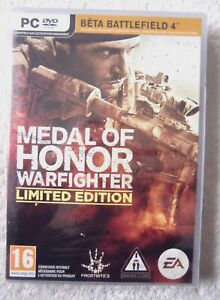 30185 - Medal Of Honor Warfighter Limited Edition [NEW / SEALED / FRENCH] - PC (
