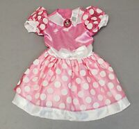 Disney Girls Disguise Minnie Mouse Clubhouse Costume Tutu Dress BF5 Pink Small
