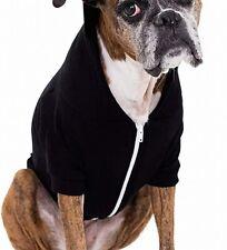 American Apparel Dog Sweater Black Size XL Solid Fleece Full-Zip $22- 581