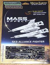 Mass Effect SX3 Alliance Fighter Metal Earth 3D Laser Cut Model Fascinations