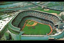 NEW YORK (U.S.A.) STADE de BASE BALL / YANKEE STADIUM Bronx en vue aérienne