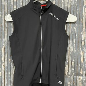 Salomon Clima Wind Full Zip Vest Mens Size XL