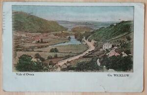 Postcard- Vale of Ovoca (Avoca) County Wicklow, Ireland 1900s undivided back