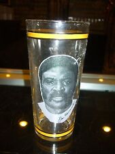 1976 Glen Edwards Pittsburgh Steelers Arby'S Drinking Glass